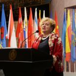 Председатель Совета Ассамблеи народов России Светлана Константиновна Смирнова