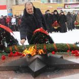 Торжества, посвященные 75-й годовщине освобождения Вязьмы от немецко-фашистских захватчиков